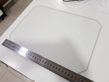 Vidro de 220mm por 320mm s/ cantos
