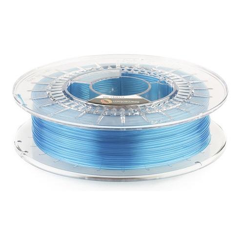 """Flex Fillamentum- 1.75mm 500gr - Flexfill 98A """"Blue Transparent"""""""