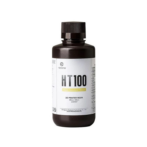Resione HT100 Heat-resistant Resin - 500g - Transparent Yellow