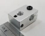 Bloco de aquecimento em Alumínio 23x11x16mm
