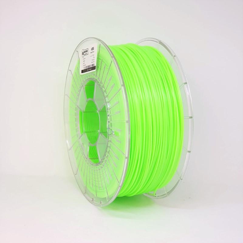 ABS RepRap PT - 1.75mm 1Kg - Verde Fluor