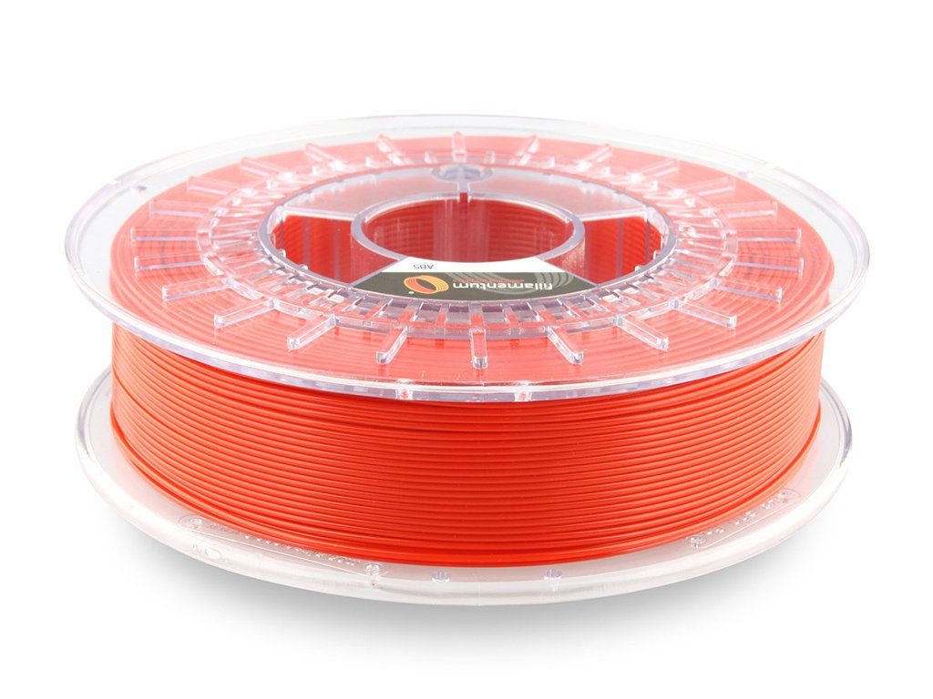 ABS Fillamentum - 1.75mm 750g - Traffic Red