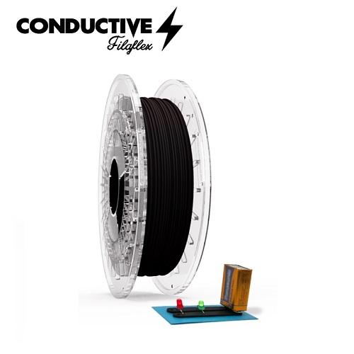 FilaFlex Conductive - 1.75mm 500gr - Black