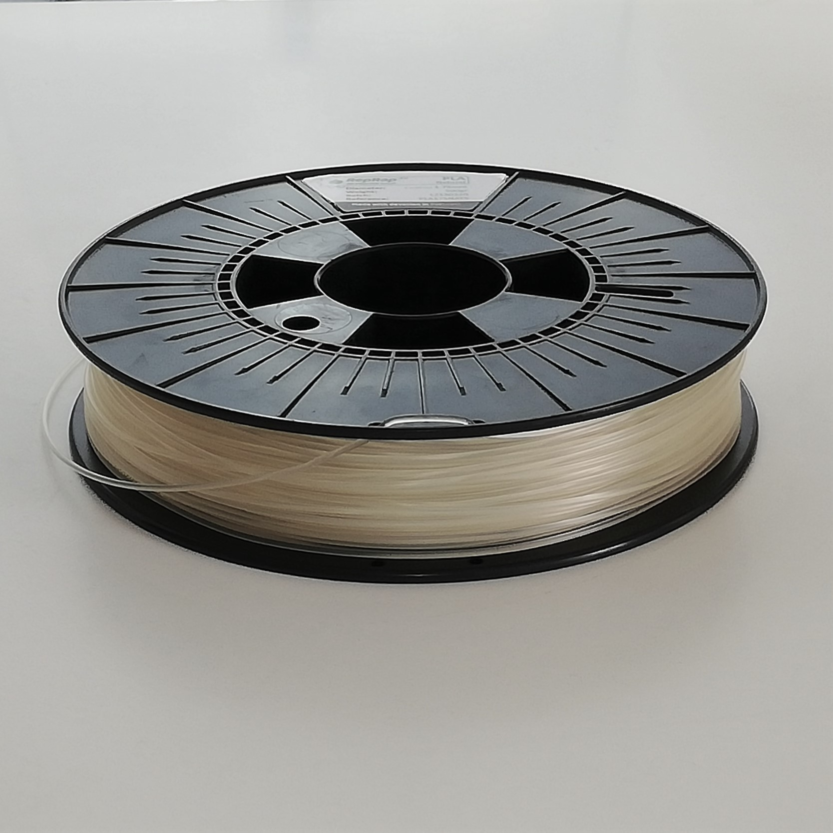 PLA RepRap PT - 1.75mm 500gr - Natural / Transparente
