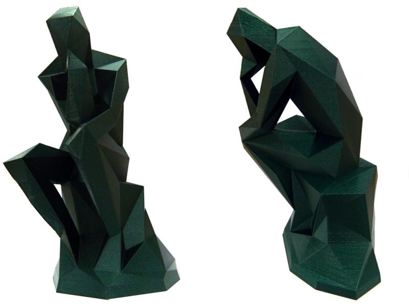 PLA Filament PM - 1.75mm 1Kg - Verde Metalizado