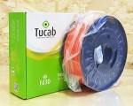 PETg Tucab - 1.75mm 1Kg - Laranja