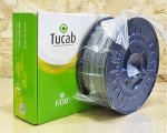 PETg Tucab - 1.75mm 1Kg - Prata