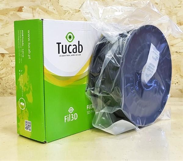 PETg Tucab - 1.75mm 1Kg - Preto