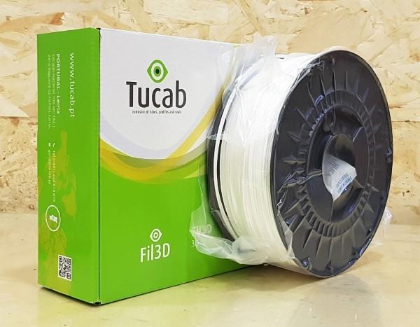 PETG Tucab - 1.75mm 1Kg - Branco