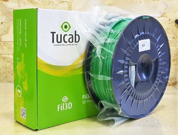 PETG Tucab - 1.75mm 1Kg - Verde