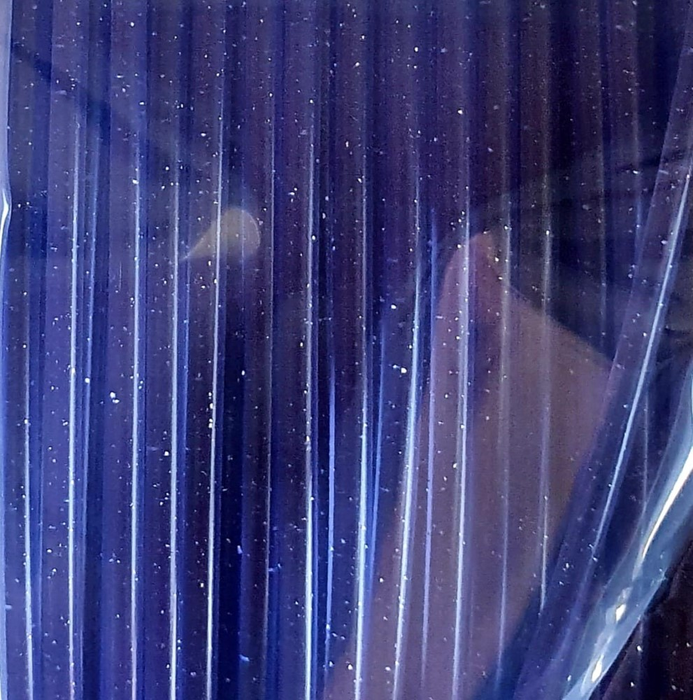 PLA Tucab 4032D - 1.75mm 1Kg - Glitter Violeta Translucido