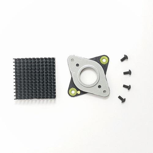 União anti-vibração com dissipador (motor vibration damper)