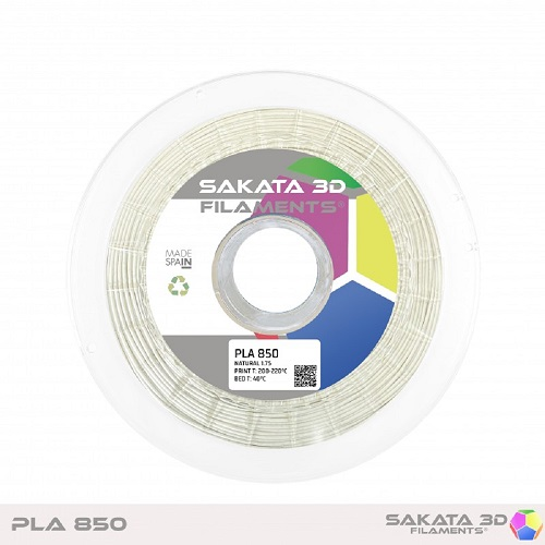 PLA INGEO 3D850 Sakata 3D - 1.75mm 1Kg - Branco
