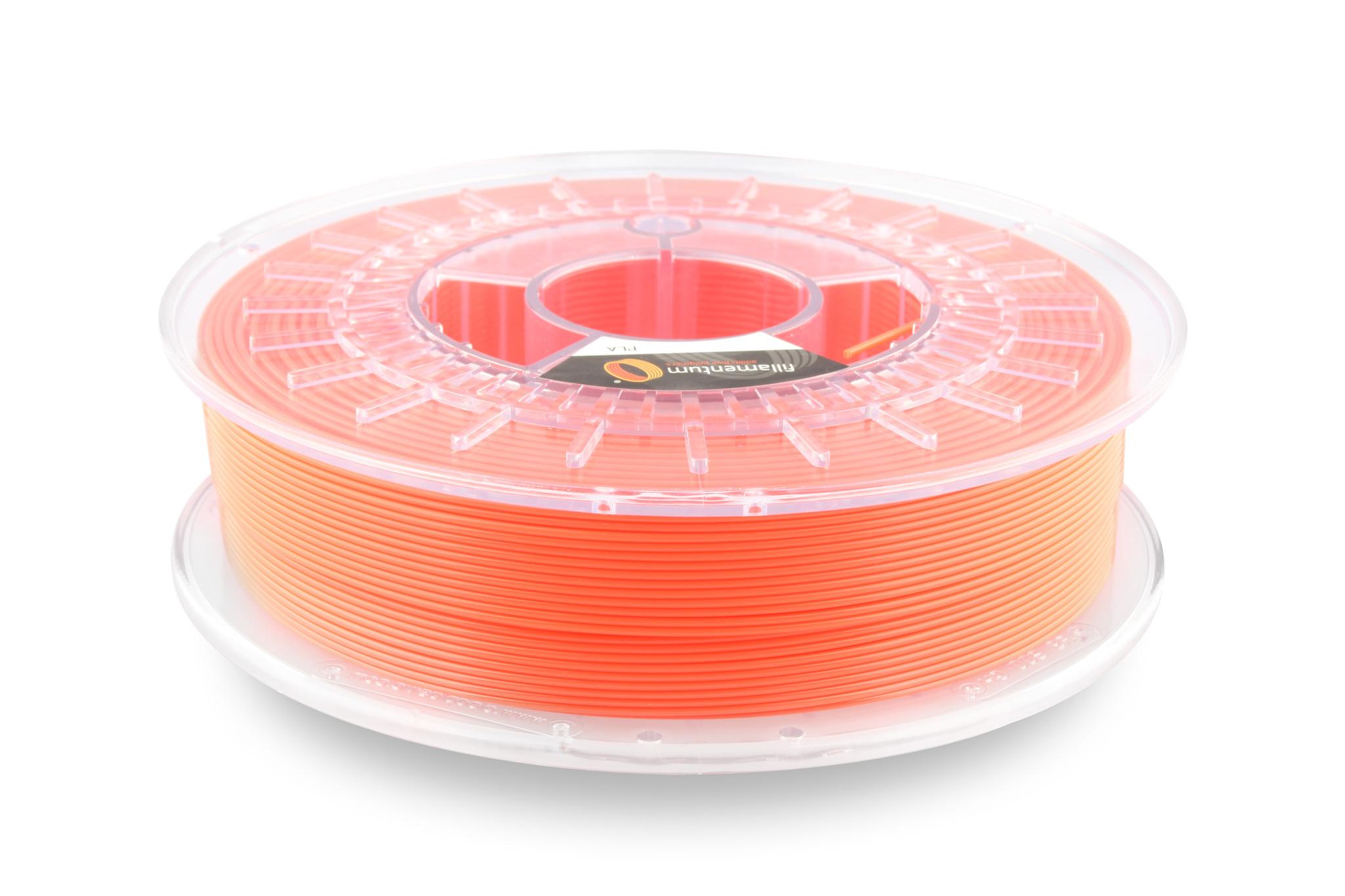 PLA Fillamentum - 1.75mm 750Gr - Luminous Orange