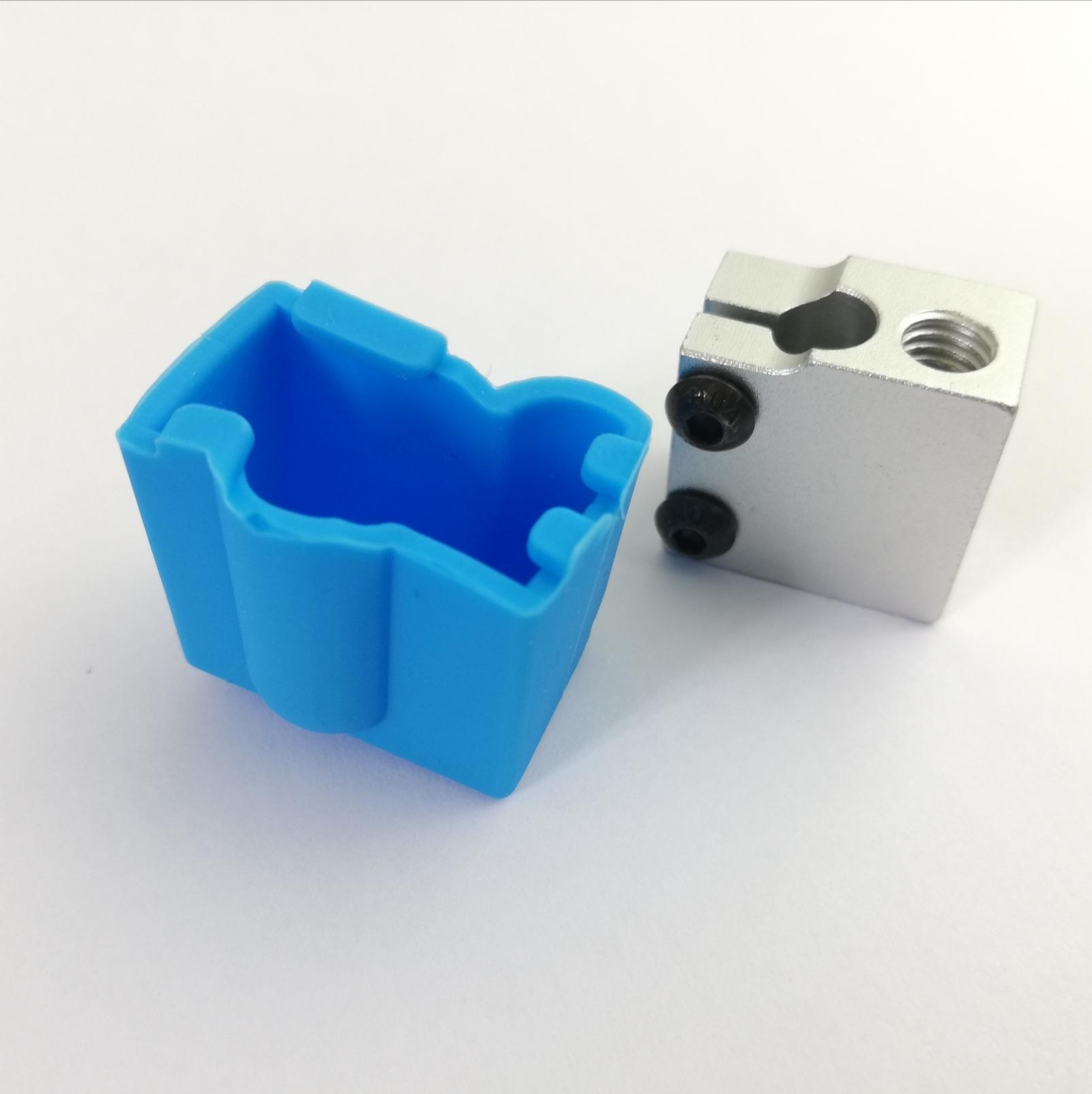 Isolamento de silicone para  Volcano v6 - Azul