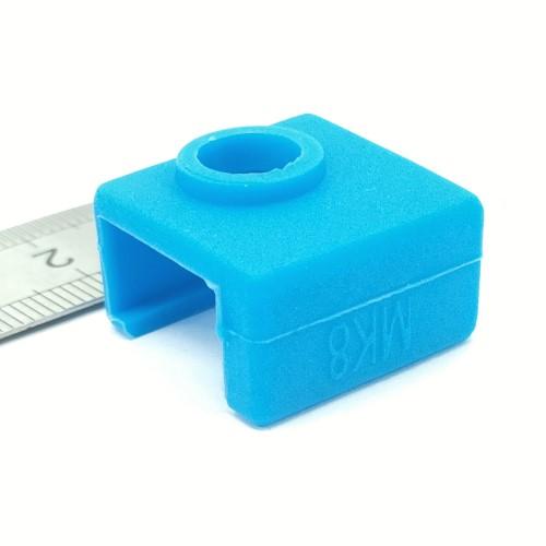 Isolamento de silicone MK8 para Anet e Creality - Azul