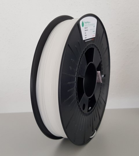 HDPE / PEAD RepRap PT - 1.75mm 390 a 435g - Natural