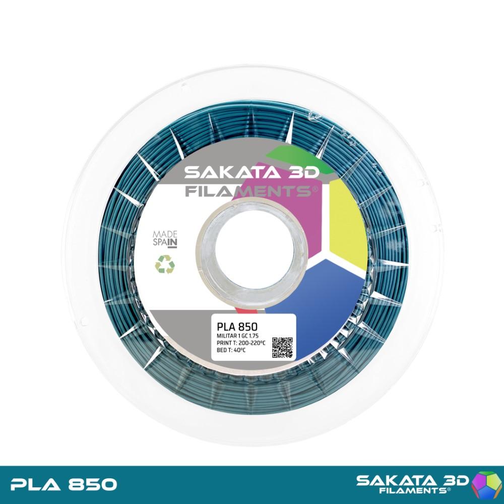 PLA INGEO 3D850 Sakata 3D - 1.75mm 1Kg - MILITAR 1 GC