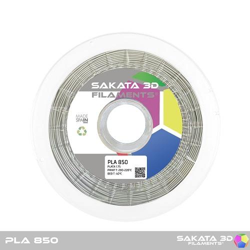 PLA INGEO 3D850 Sakata 3D  - 1.75mm 1Kg - Silver