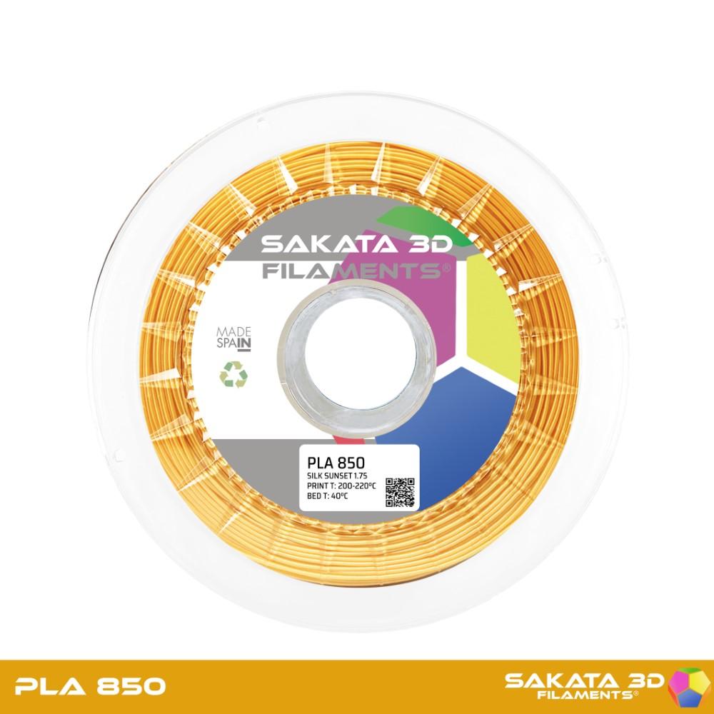 PLA INGEO 3D850 Sakata 3D - 1.75mm 1Kg - SILK SUNSET
