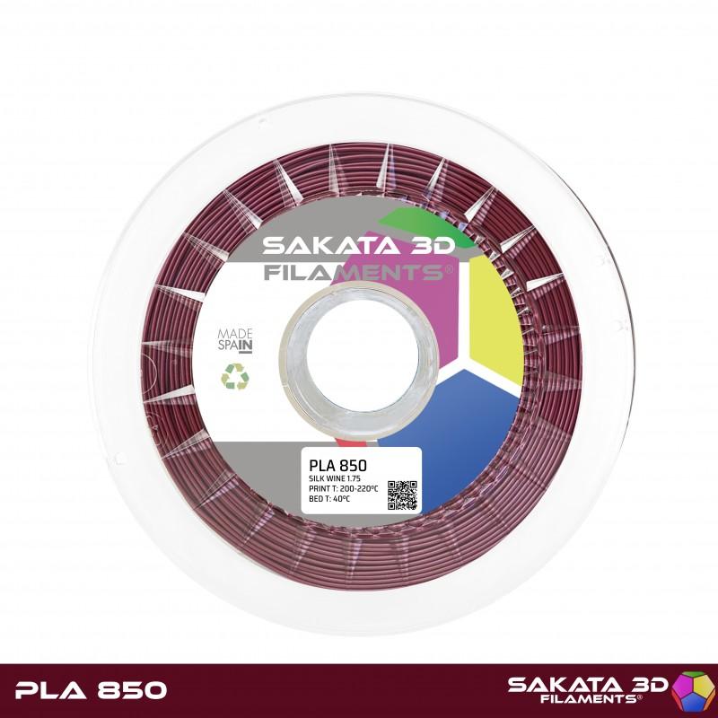 PLA INGEO 3D850 Sakata 3D - 1.75mm 1Kg - SILK WINE