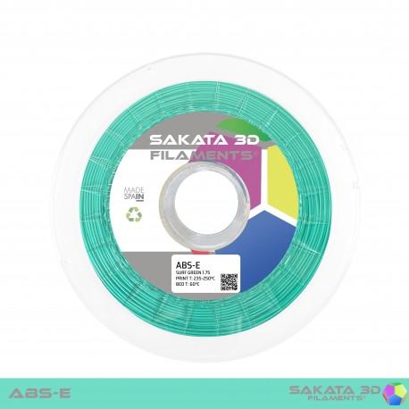 ABS-E Sakata 3D - 1.75mm 1Kg - SURF GREEN