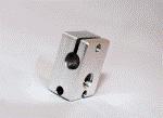 Bloco de aquecimento em Aluminio 23x11x16mm (e3d genuíno)