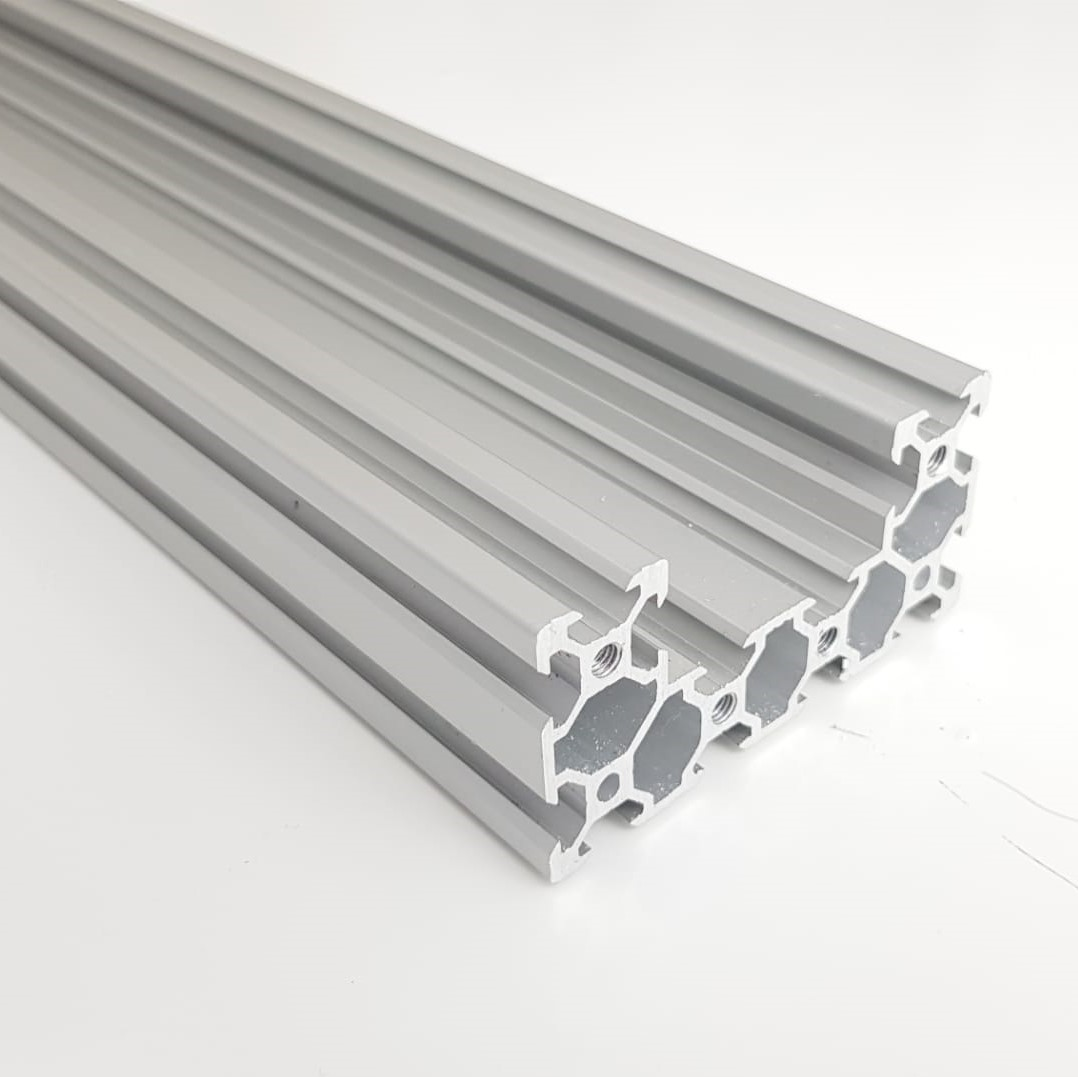 C-Beam Alumínio Natural Anodizado - 1metro