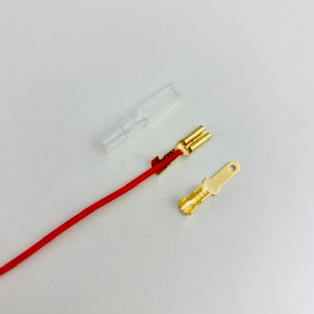 Terminal Faston 2.8mm de cravar fêmea e macho
