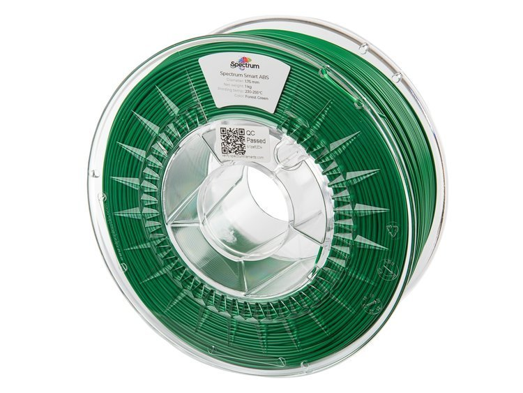 ABS SMART Spectrum - 1.75mm 1Kg - Forest Green (RAL6024)