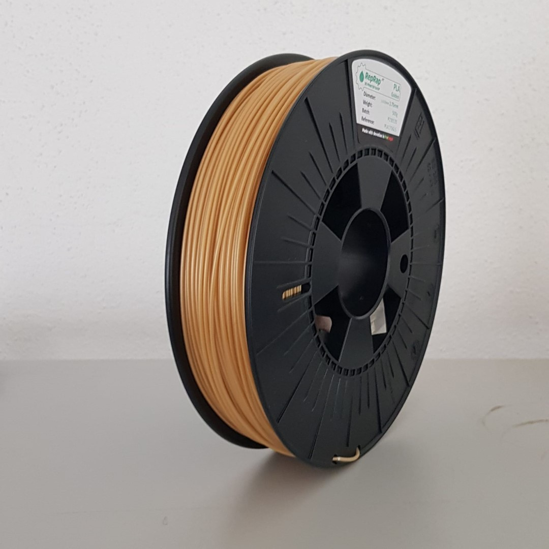 PLA RepRap PT - 1.75mm 500g - Golden