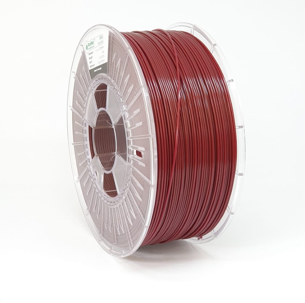 PLA RepRap PT - 1.75mm 1Kg - Bordeaux RAL 3005