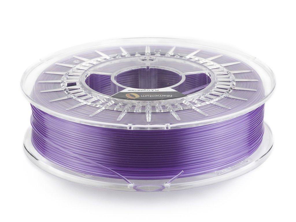 """PLA Fillamentum - 1.75mm 750Gr - Crystal Clear """"Amethyst Purple"""