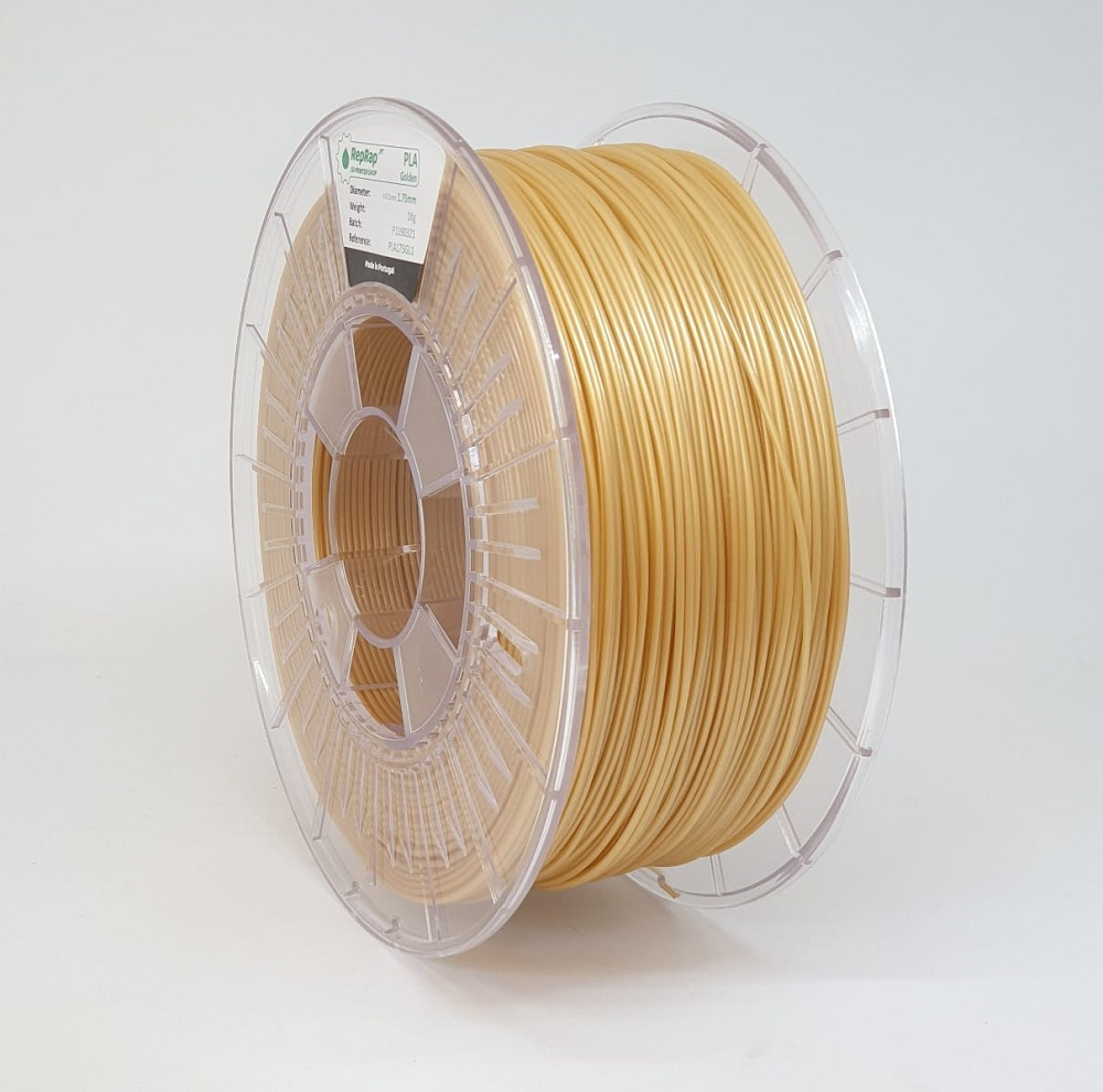 PLA RepRap PT - 1.75mm 1kg - Golden