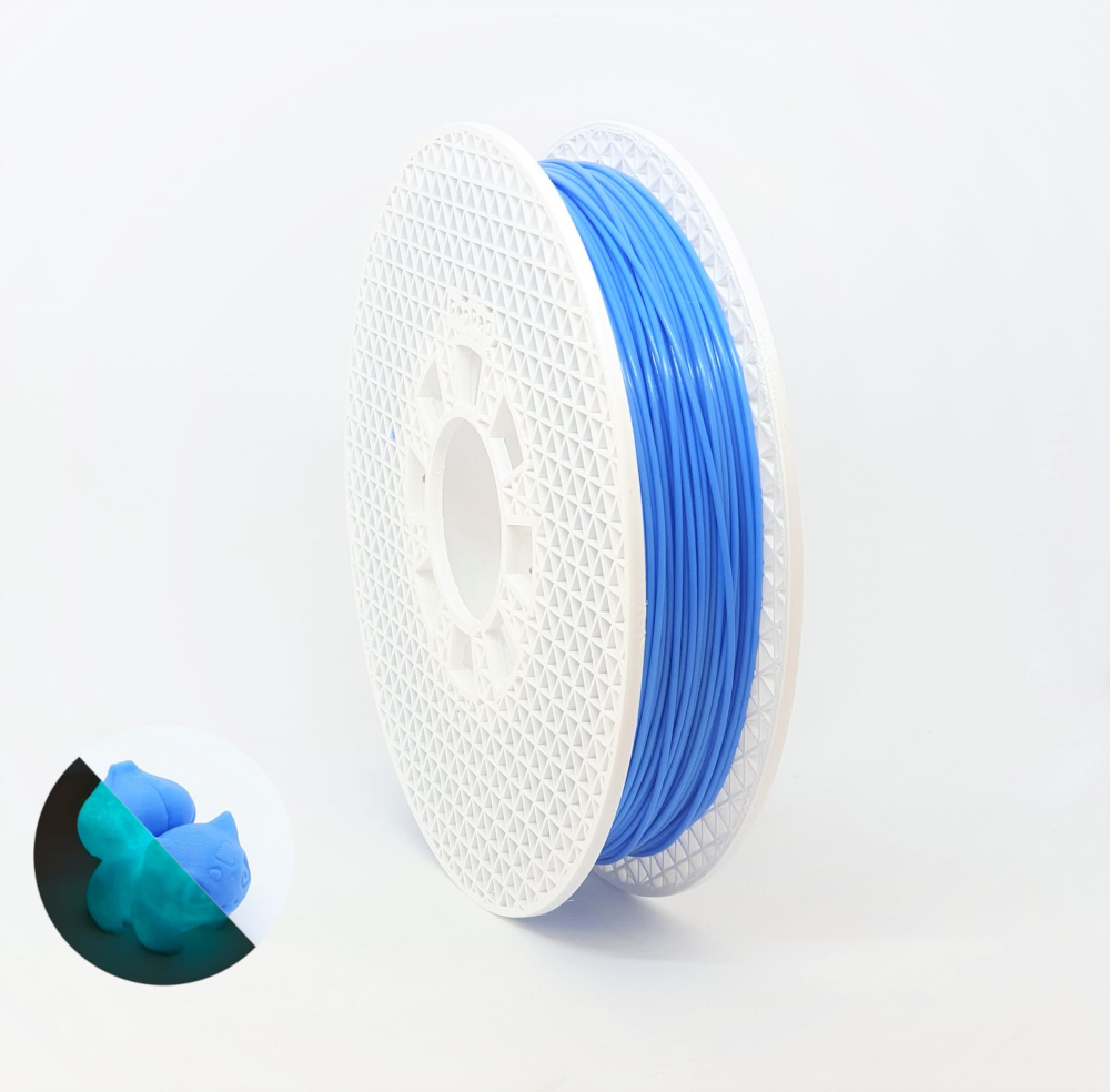 PLA RepRap PT - 1.75mm 500g - Azul Luminescente