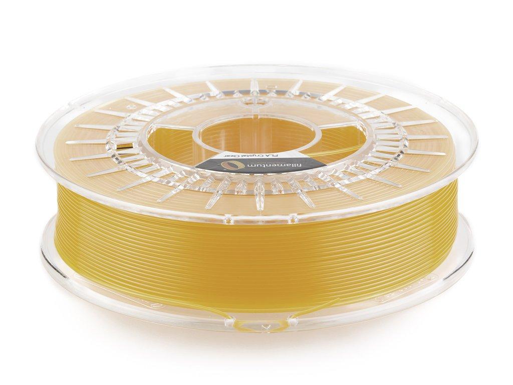 PLA Fillamentum - 1.75mm 750Gr - Crystal Clear Tangerine Orange