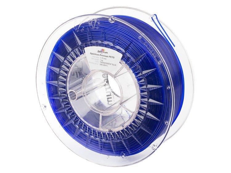 PETG Spectrum - 1.75mm 1Kg - Transparent Blue