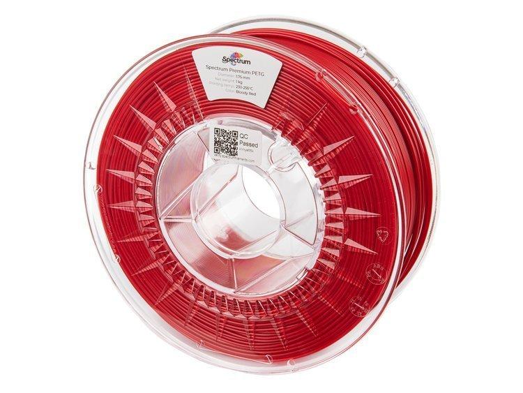 PETG Spectrum - 1.75mm 1Kg - Bloody Red
