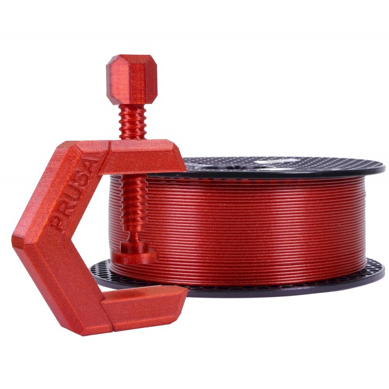 PETg Prusament - 1.75mm 1Kg - Carmine Red