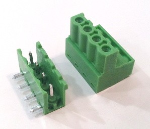 Conector PCB ht5.08 300V 10A Verde (RAMPS)