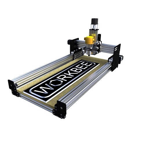 WorkBee CNC - (1000x500) - Black