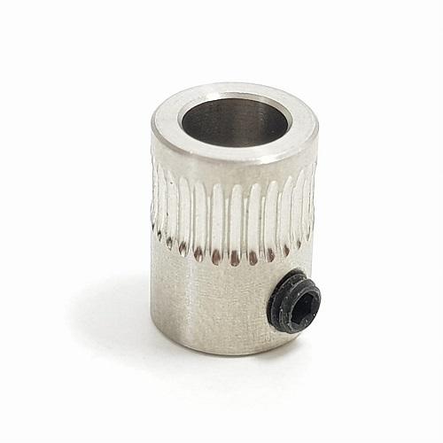Polia ou Engrenagem dentada Hobb-Goblin - Extrusão Direta em 5mm alumínio - PRUSA