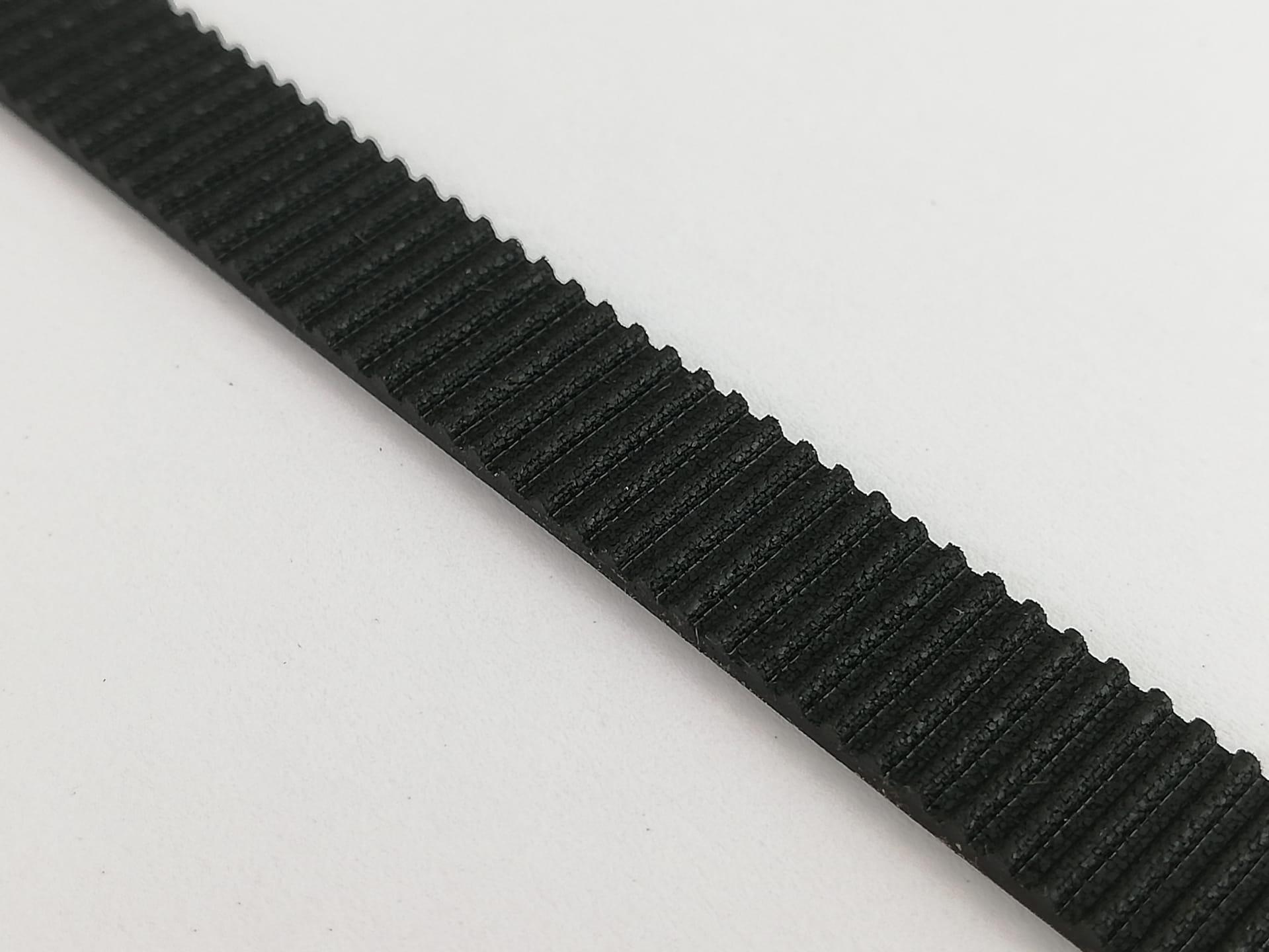 Correia GT2 ao metro reforçada com fibra - 10mm (larga)