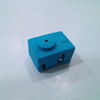 Isolamento de silicone para bloco de aquecimento original e3D
