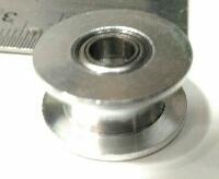 Polia para alinhamento da correia Gt2 dia interno 5mm sem dentes